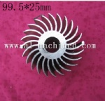99.5mm Round Heatsink for Led Light